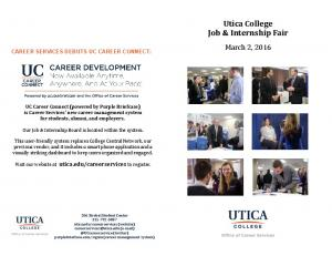 Utica College Job & Internship Fair