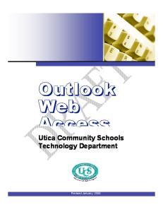 Utica Community Schools Technology Department