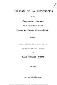 UTILIDAD DE LA CISTOSCOPlAy