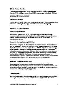 UTILIZATION MANAGEMENT. Eligibility Verification
