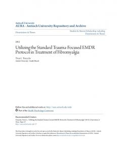 Utilizing the Standard Trauma-Focused EMDR Protocol in Treatment of Fibromyalgia
