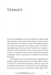 Utrecht. AUSZUG AUS HOLLAND SPECIAAL ISBN Conbook Medien GmbH. Alle Rechte vorbehalten