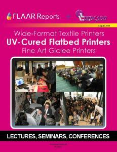 UV-Cured Flatbed Printers Fine Art Giclee Printers
