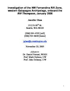 V Thompson, January 2006
