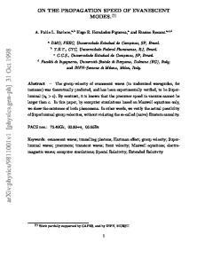 v1 [physics.gen-ph] 31 Oct 1998