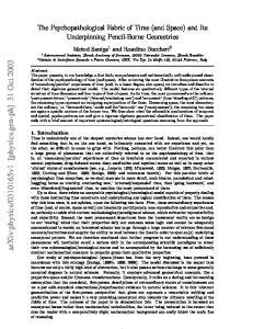 v1 [physics.gen-ph] 31 Oct 2003