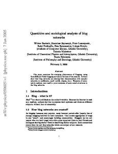 v1 [physics.soc-ph] 7 Jun 2005