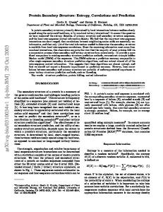 v1 [q-bio.bm] 29 Oct 2003