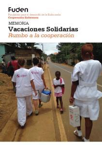 Vacaciones Solidarias