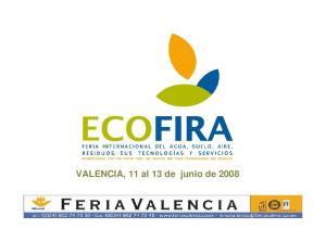 VALENCIA, 11 al 13 de junio de 2008