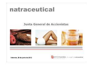 Valencia, 28 de junio de Junta General de Accionistas