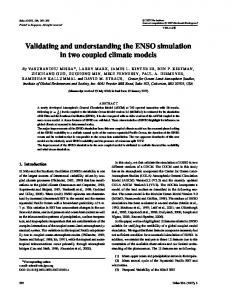 Validating and understanding the ENSO simulation in two coupled climate models