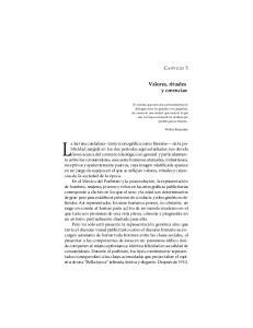 Valores, rituales y creencias