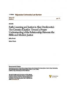 Valparaiso University Law Review. Jeffrey Brauch. Robert Woods. Volume 36 Number 1. pp Fall Recommended Citation