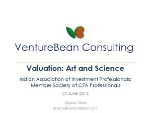 Valuation: Art and Science