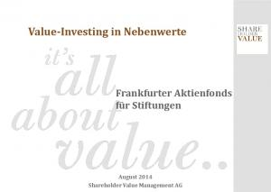 Value-Investing in Nebenwerte