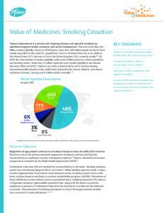 Value of Medicines: Smoking Cessation