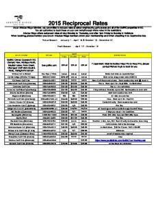 Value Season January 1 - April 16 & October 13 - December 31. Peak Season April 17 October 12