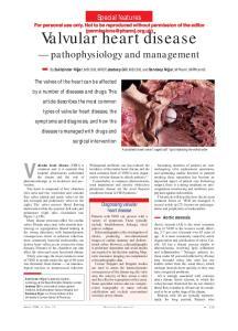 Valvular heart disease (VHD) is
