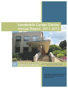 Vanderbilt Career Center Annual Report