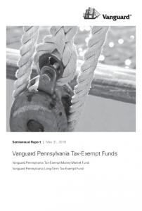 Vanguard Pennsylvania Tax-Exempt Funds