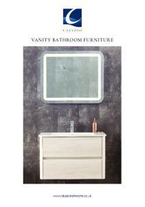 VANITY BATHROOM FURNITURE