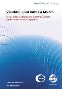Variable Speed Drives & Motors