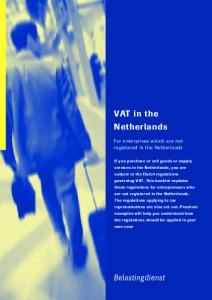 VAT in the Netherlands