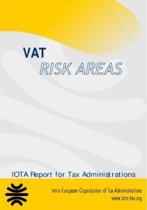 VAT. IOTA Report for Tax Administrations