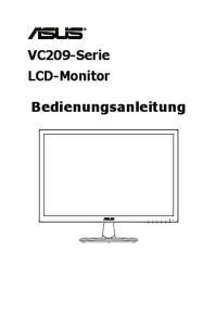 VC209-Serie LCD-Monitor. Bedienungsanleitung