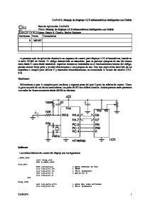 Vcc PA.0. D7 RS RW E 4MHz HT48E30 PA.7 PC.0 PC.1 PC.4
