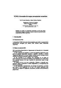 VCMG: Generador de mapas conceptuales vectoriales