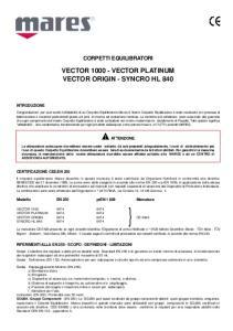 VECTOR VECTOR PLATINUM VECTOR ORIGIN - SYNCRO HL 840