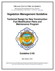 Vegetation Management Guideline