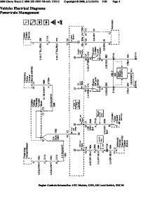 Vehicle: Electrical Diagrams Powertrain Management