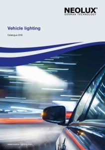 Vehicle lighting. Catalogue Bottom