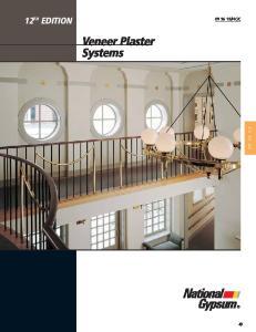 Veneer Plaster Systems