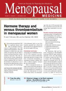 Venous thromboembolism (VTE)