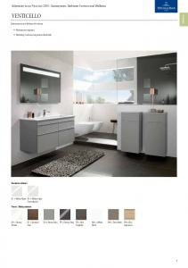 VENTICELLO. Addendum to our Price List Sanitaryware, Bathroom Furniture and Wellness. Sanitaryware and Bathroom Furniture