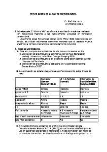 VENTILACION DE ALTA FRECUENCIA (VAF)