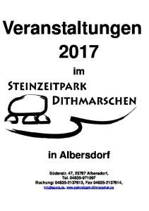 Veranstaltungen 2017