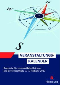 VERANSTALTUNGS- KALENDER