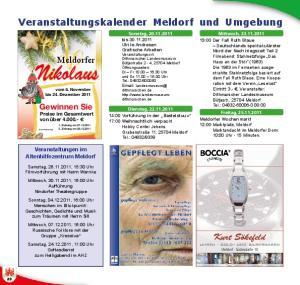 Veranstaltungskalender Meldorf und Umgebung