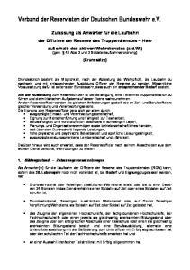 Verband der Reservisten der Deutschen Bundeswehr e.v