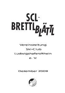 Vereinszeitung. Ski-Club. e. V