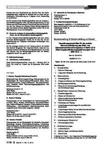 Veröffentlichungen. Senatsverwaltung für Stadtentwicklung und Umwelt