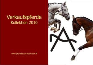 Verkaufspferde Kollektion
