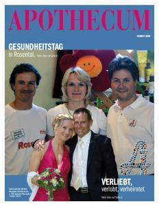 Verliebt, in Rosental. verlobt, verheiratet. Herbst Mehr dazu auf Seite 9. Mehr dazu auf Seite 5