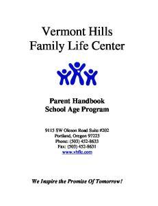 Vermont Hills Family Life Center
