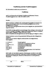 Verpflichtung nach dem Verpflichtungsgesetz